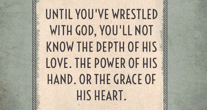 """Wrestling With God"" (August 6, 2017)"